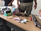 Cinco são presos após roubo a loja de eletrodomésticos em João Pessoa