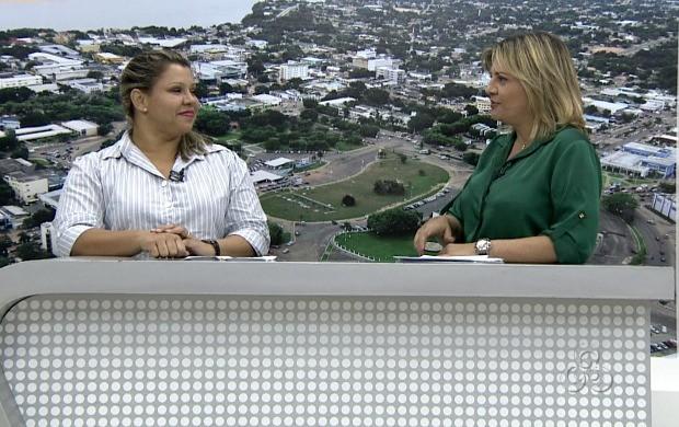 """Quadro """"Balcão de empregos"""" do Roraima TV (Foto: Roraima TV)"""