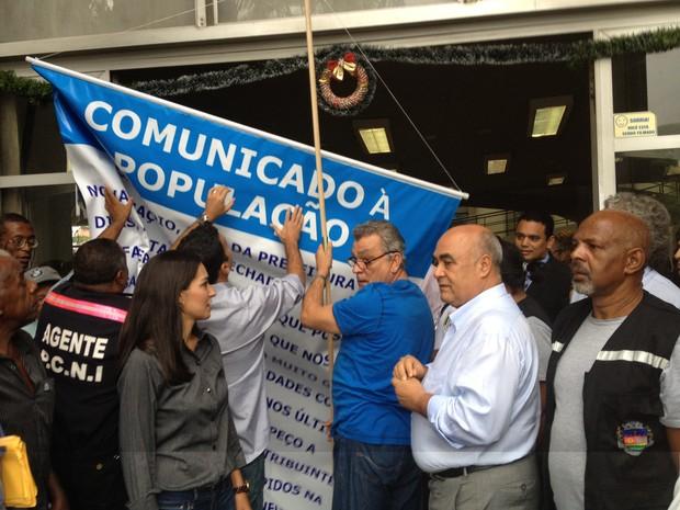 Prefeitura reabre Nova Iguaçu (Foto: Renata Soares/ G1Rio)