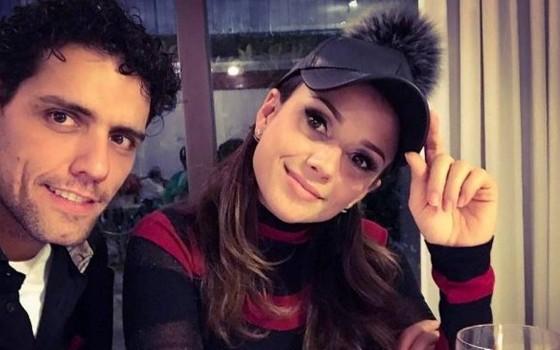Thiago e Paula tocam juntos uma parceria musical (Foto: Reprodução Instagram)