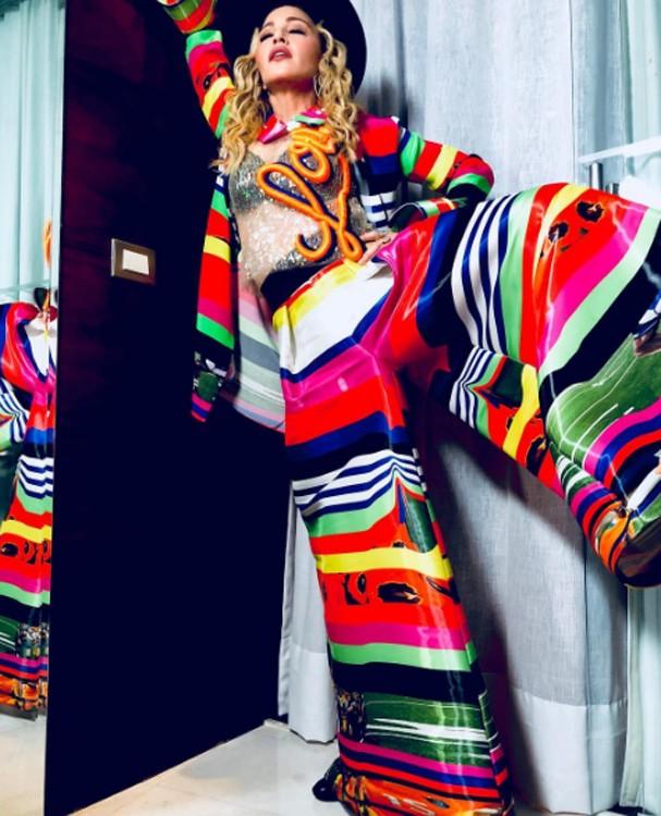 Madonna irá a casamento na casa de Angélica e Luciano Huck (Foto: Instagram/Reprodução)