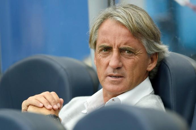 Roberto Mancini técnico Inter de Milão (Foto: Reuters)