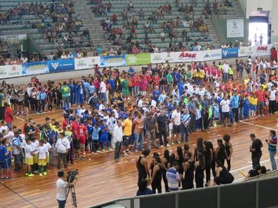 Copa TV Tribuna de Futsal Escolar (Foto: João Paulo de Castro)