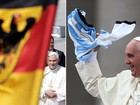 Bento XVI ficou contente com a vitória da Alemanha na Copa