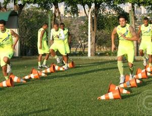 Goiás treina para enfrentar o Guaratinguetá (Foto: Rosiron Rodrigues/Goiás E.C.)