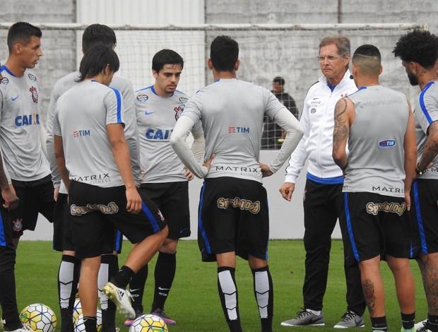 Oswaldo de Oliveira treino Corinthians