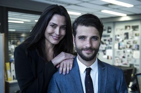 Valéria Monteiro e Bruno Gagliasso (Foto: Arquivo pessoal)