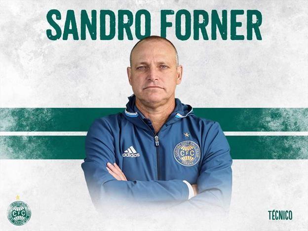 Novo técnico do Coritiba, Sandro Forner
