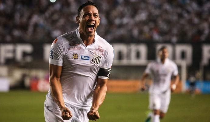Ricardo Oliveira brilha, faz tr�s gols e classifica o Santos na Copa do Brasil