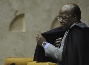 Joaquim Barbosa diz que se aposenta 'de alma leve'