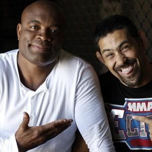 Anderson Silva e Guro Demeski (Foto: Reprodução/Arquivo Pessoal)