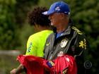 Felipão mantém mistério sobre equipe que enfrenta a Alemanha