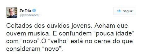 Tweet de José de Abreu (Foto: Reprodução / Twitter)