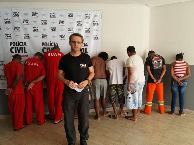 operação tríade paracatu (Foto: Polícia Civil/Divulgação)