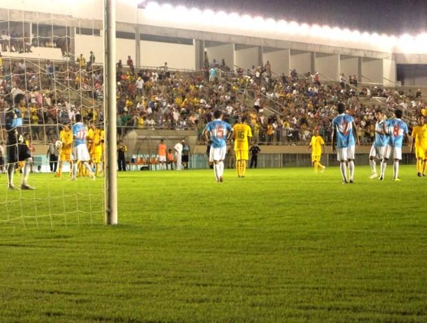 Estádio Arena do Juruá em Cruzeiro do Sul. (Foto: Genival Moura)