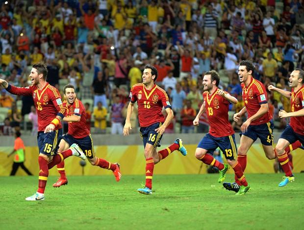 Espanha Itália Castelão (Foto: Andre Durão)