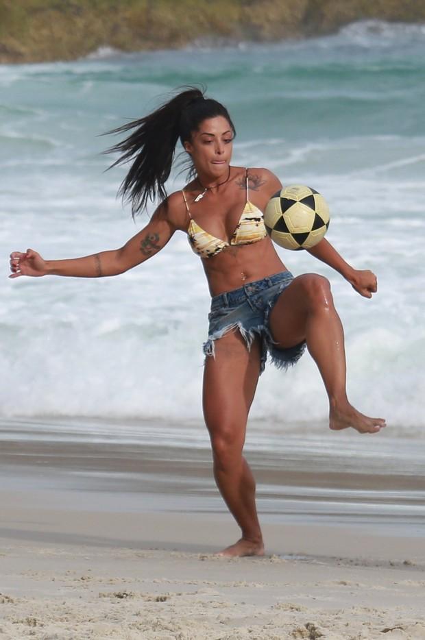 Aline Riscado  (Foto: Dilson Silva / Ag. News)