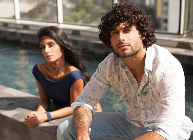 Jesus Luz e Carol Ramiro (Foto: Thais dos Anjos)