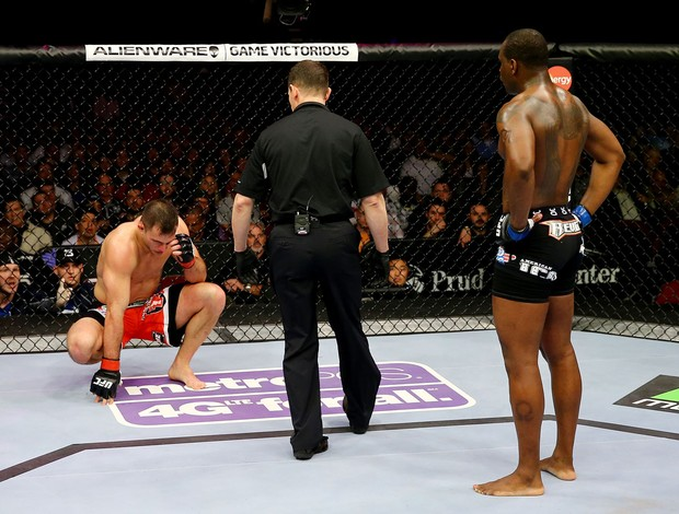 Gian Villante x Ovince Saint Preux UFC 159 (Foto: Getty Images)