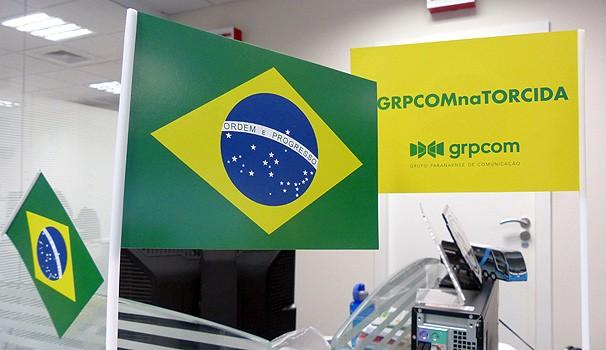 Bandeirinhas Copa (Foto: Divulgação/ RPC TV)