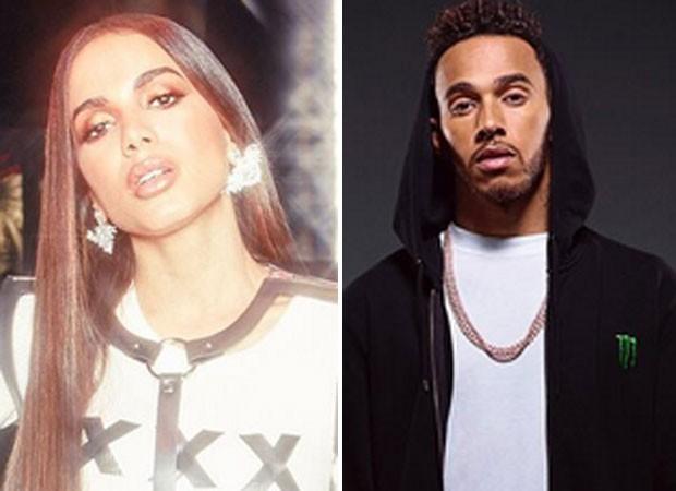 Anitta tem música promovida por Lewis Hamilton (Foto: Reprodução)