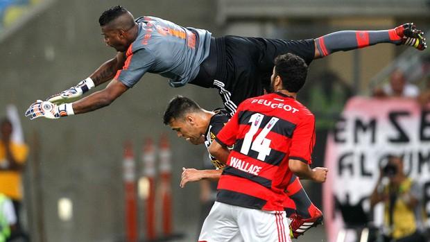 Felipe jogo Flamengo contra Botafogo (Foto: Pedro Kirilos / Agência O Globo)