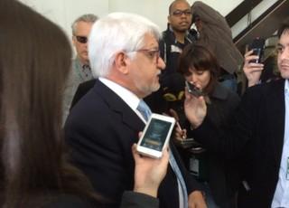 Delegado Cleber Ferreira concede entrevista sobre depoimento de Patrícia (Foto: Tatiana Lopes/GloboEsporte.com)