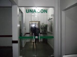Unacon está sem remédios para pacientes fazerem quimioterapia (Foto: Nixon Frank/Agência Amapá)