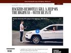 Fiat Chrysler chama 1,4 milhão de carros que podem ser hackeados