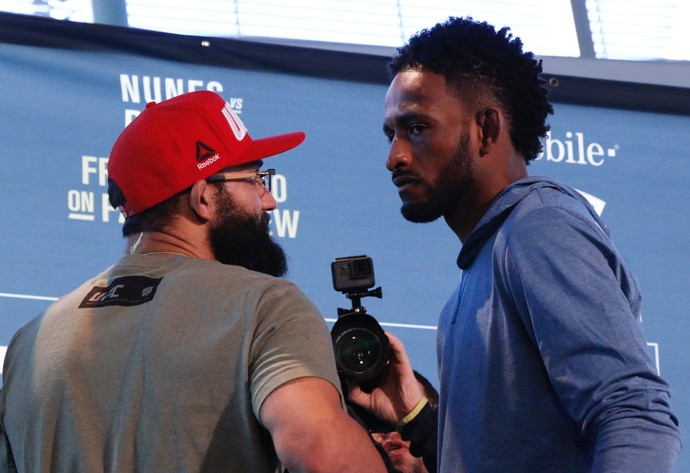 Johny Hendricks x Neil Magny (Foto: Evelyn Rodrigues)