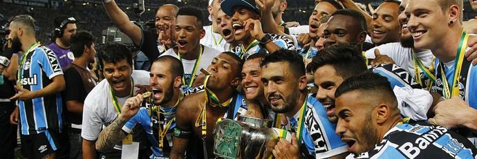 Grêmio Copa do Brasil (Foto: Lucas Uebel/Divulgação Grêmio)