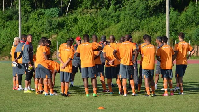 CRB treino (Foto: Francisco Galvão / Assessoria EC Vitória)