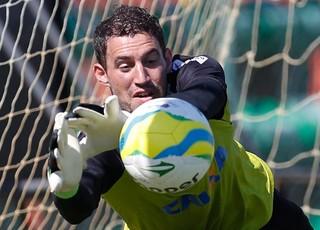Martin Silva treino do Vasco (Foto: Alexandre Cassiano / Agência O Globo)