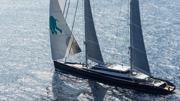 O veleiro Aquijo (Foto: Divulgação)