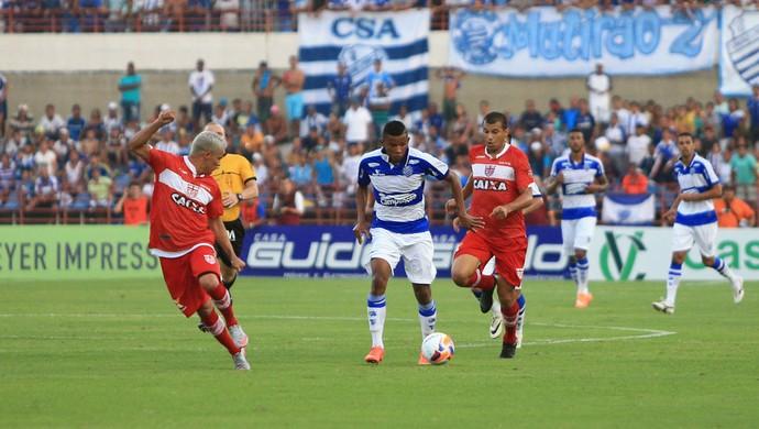 CSA x CRB, no Estádio Rei Pelé (Foto: Ailton Cruz/Gazeta de Alagoas)