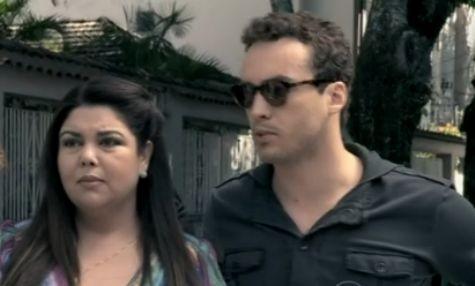 Fabiana Karla e Rodrigo Andrade em cena de 'Amor à vida' (Foto: Reprodução)