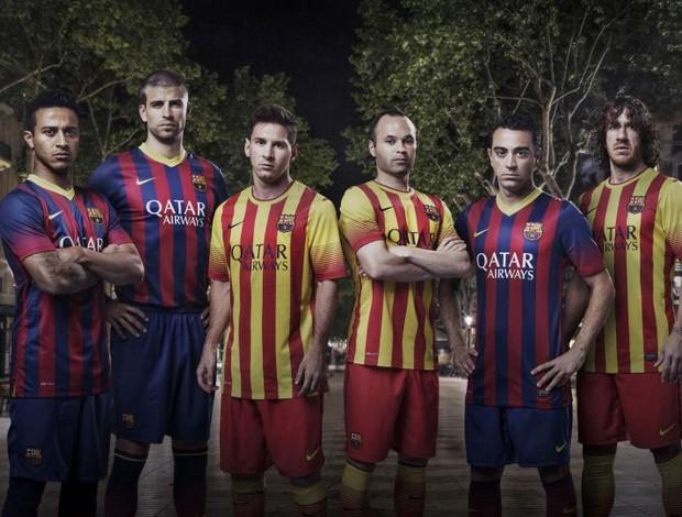 Nova camisa barcelona (Foto: Divulgação)