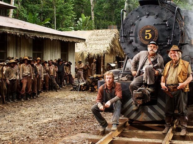 Trabalhadores da ferrovia (Foto: CEDOC/TV Globo)
