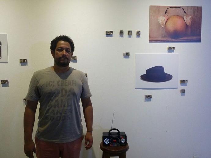 Galeria J. Inácio expõe o novo trabalho do artista plástico Fábio Sampaio, intitulado Bazar Monalisa (Foto: Fernando Petrônio)