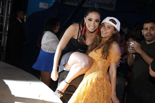 Anitta e Carolina Dieckmann em festa e Preta Gil no Rio (Foto: Felipe Panfili/ Ag. News)