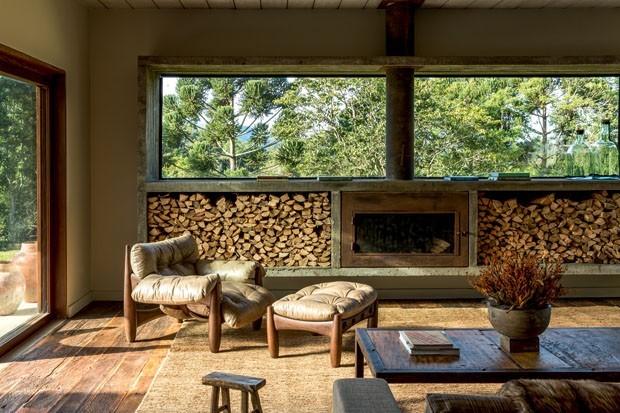 15 Casas De Campo Para Inspirar A Decoração Casa Vogue Ambientes