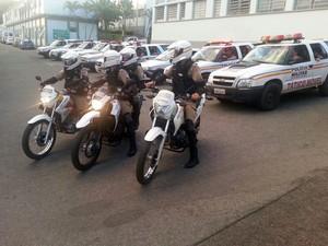 Operação batida policial em Divinópolis (Foto: Polícia Militar/Divulgação)