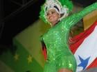Gaby Amarantos canta o 'treme' do Pará na quadra da Imperatriz