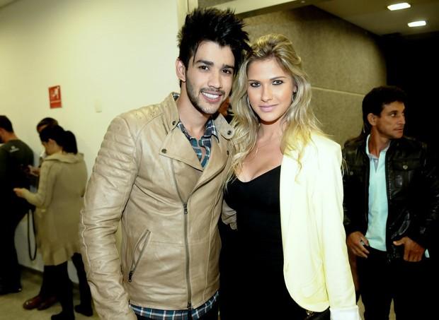 Gusttavo Lima e Andressa Suita (Foto: Francisco Cepeda/Ag News)
