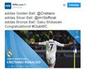 Com três gols na decisão, CR7 é eleito o melhor do torneio; Modric em 2º