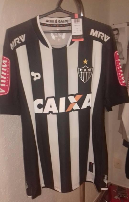 Suposta nova camisa do Atlético-MG vaza na internet (Foto: Reprodução/Internet)