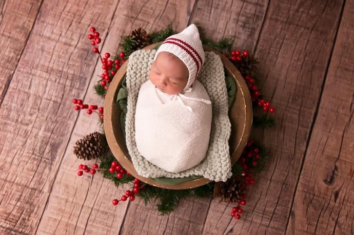 Newborn reflete a vida do bebê no útero da mãe (Foto: Catianne Oliveira)