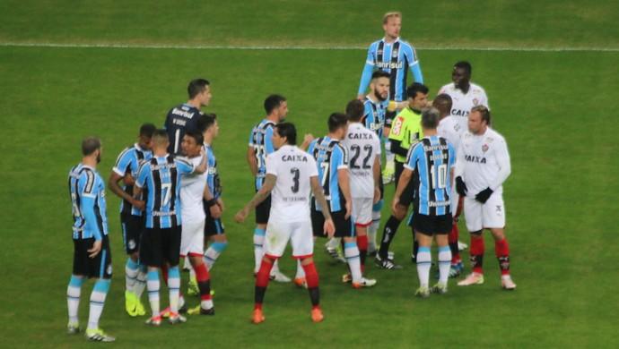 Grêmio Vitória Sandro Meira Ricci  (Foto: Eduardo Moura/GloboEsporte.com)