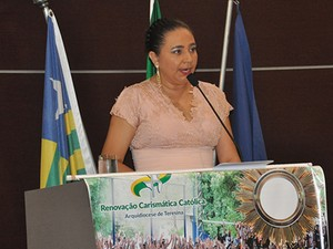 Cida Santiago (PHS) é a autora do projeto de lei (Foto: Divulgação/CMT)