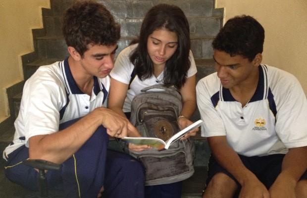 Alunos sabatistas ficarão confinados por 6 horas antes de fazer Enem, em Goiás (Foto: Humberta Carvalho/G1)